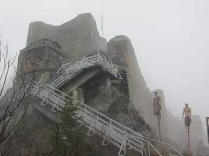 Poenari Fortress real Dracula's castle