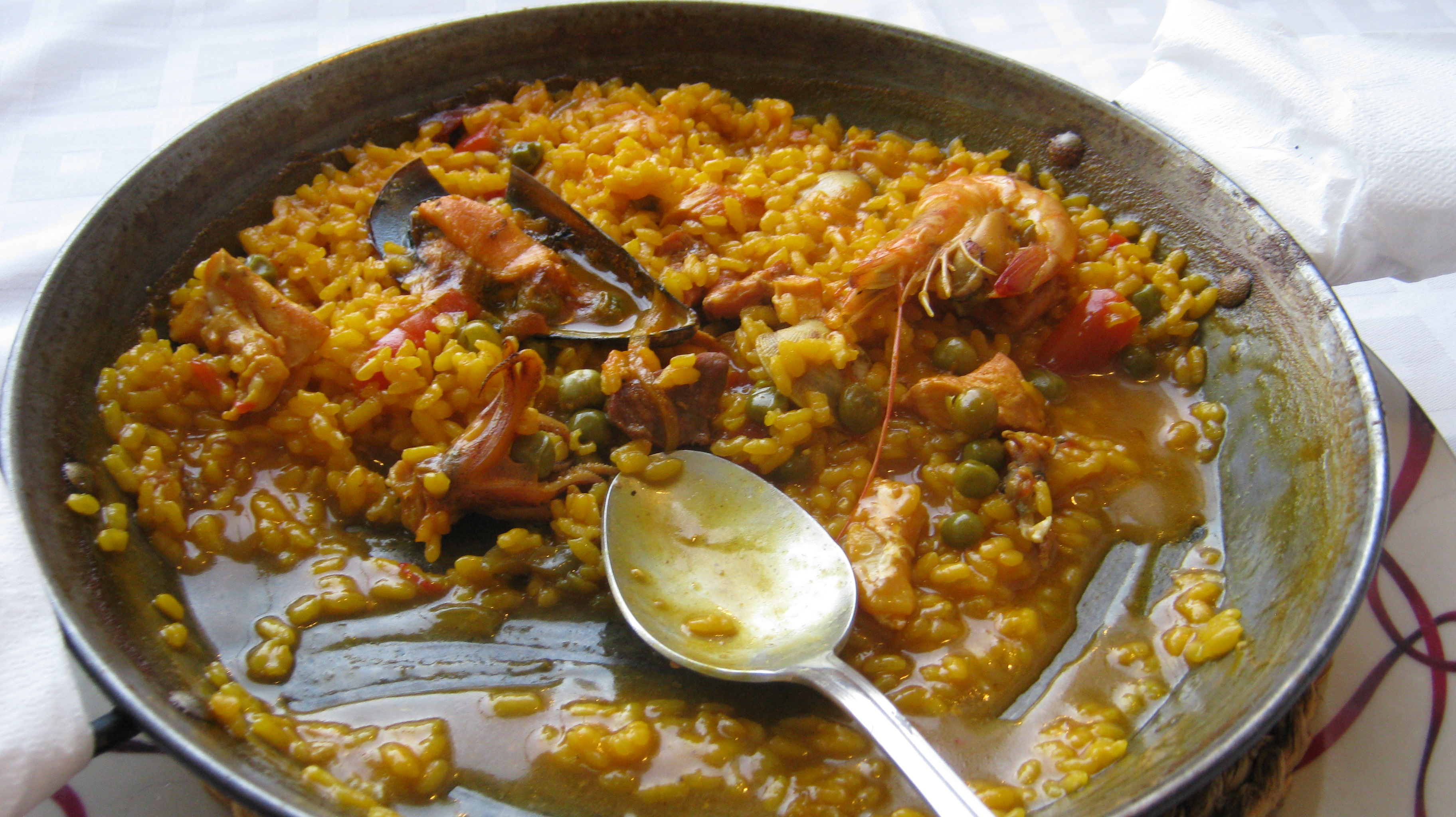 solo travel tips Spain food