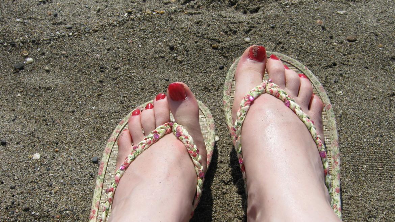 Solo beach trip