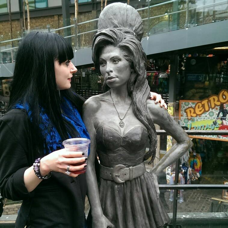 Camden London Amy Winehouse