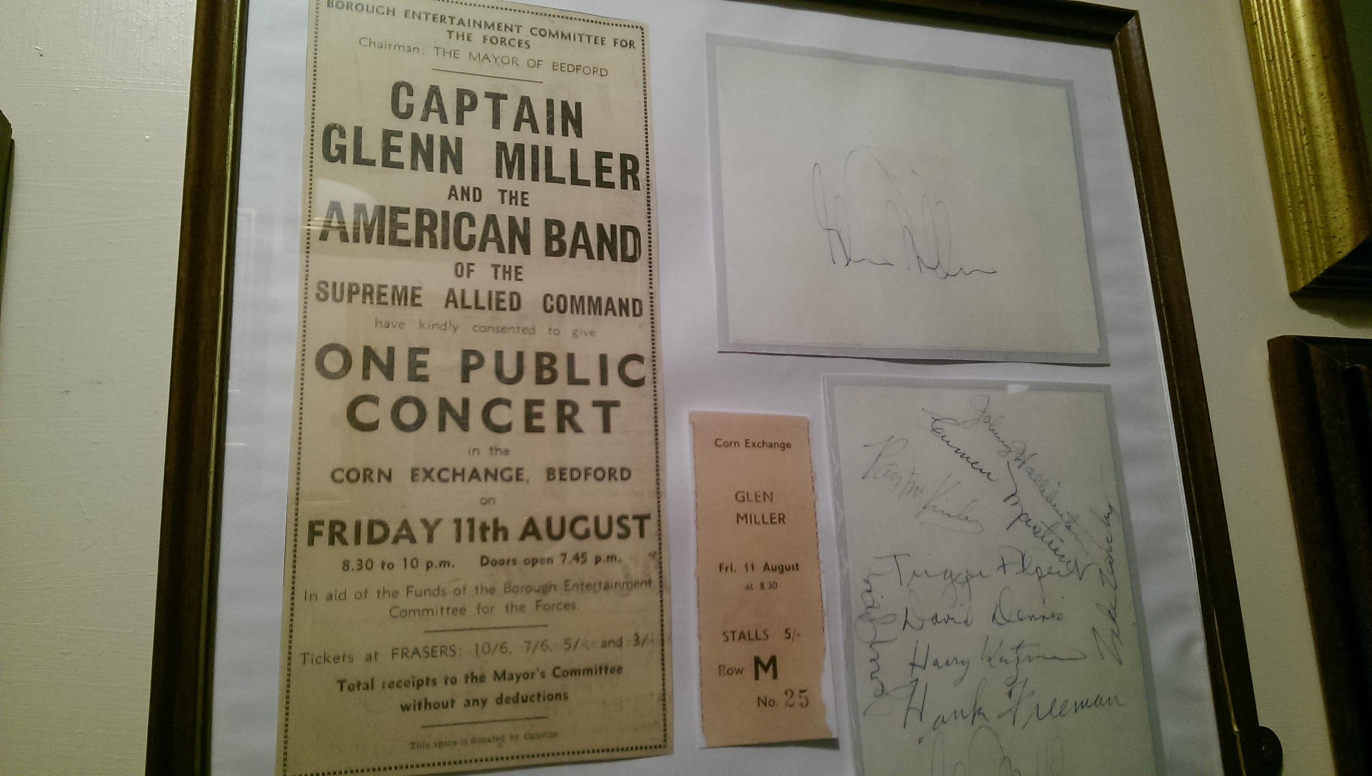 Glenn Miller museum Twinwood Bedford