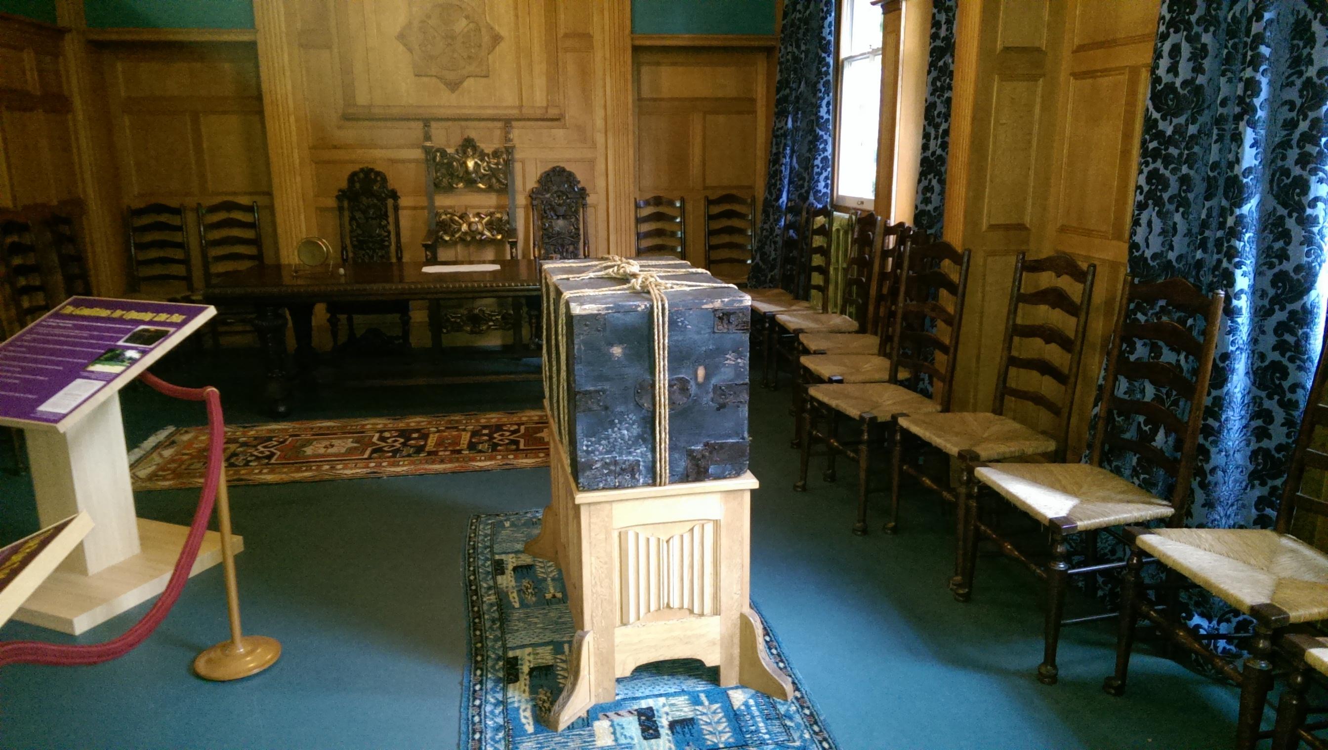 Panacea Society Museum Bedford Joanna Southcott's box