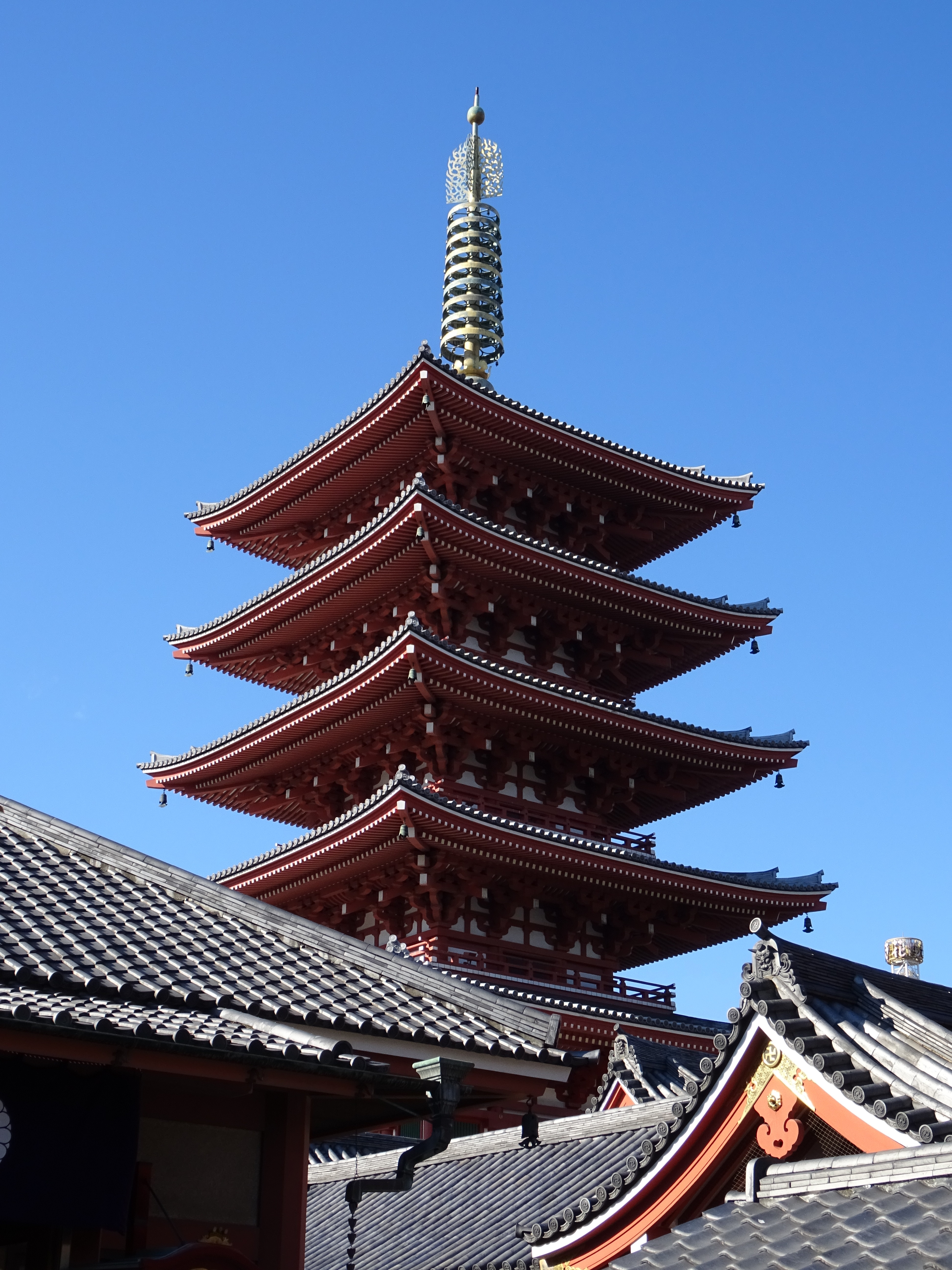 Tokyo old and new Asakusa Senso-ji