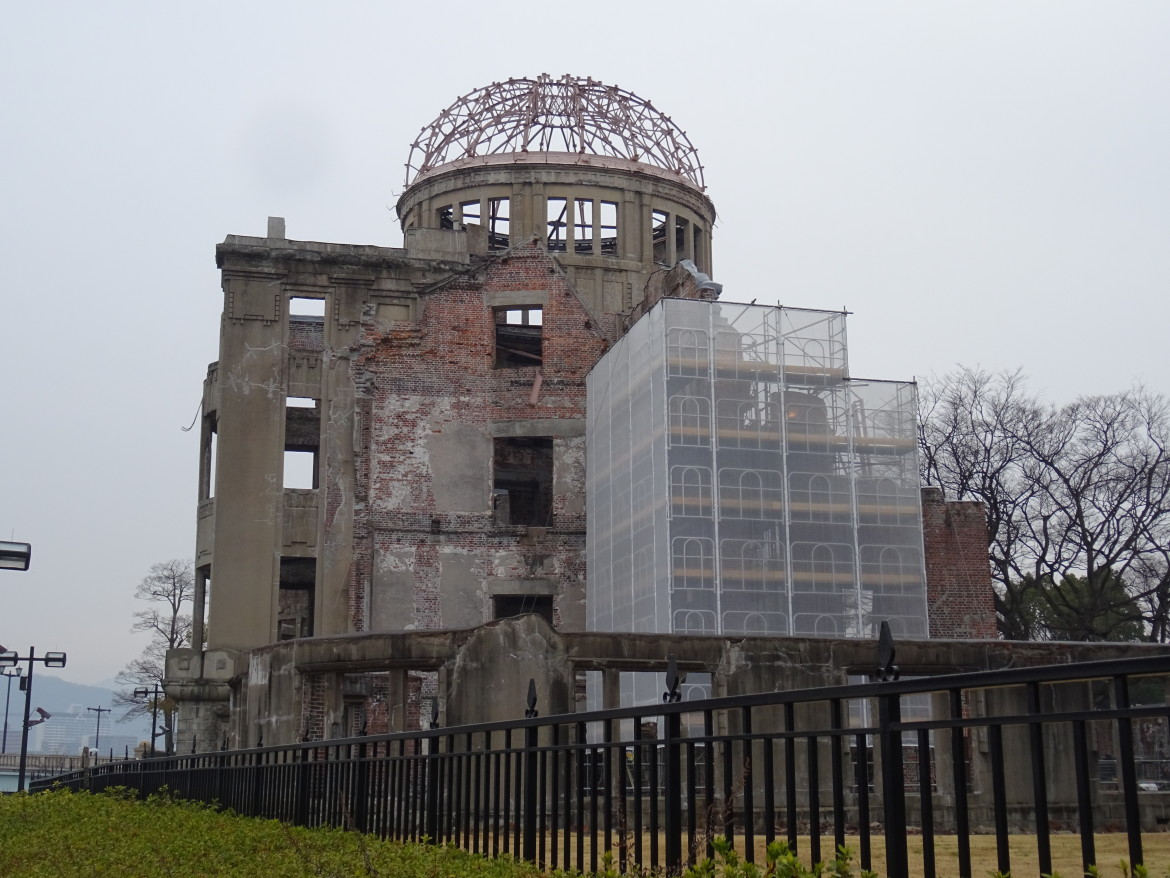 Hiroshima city of peace A-bomb dome