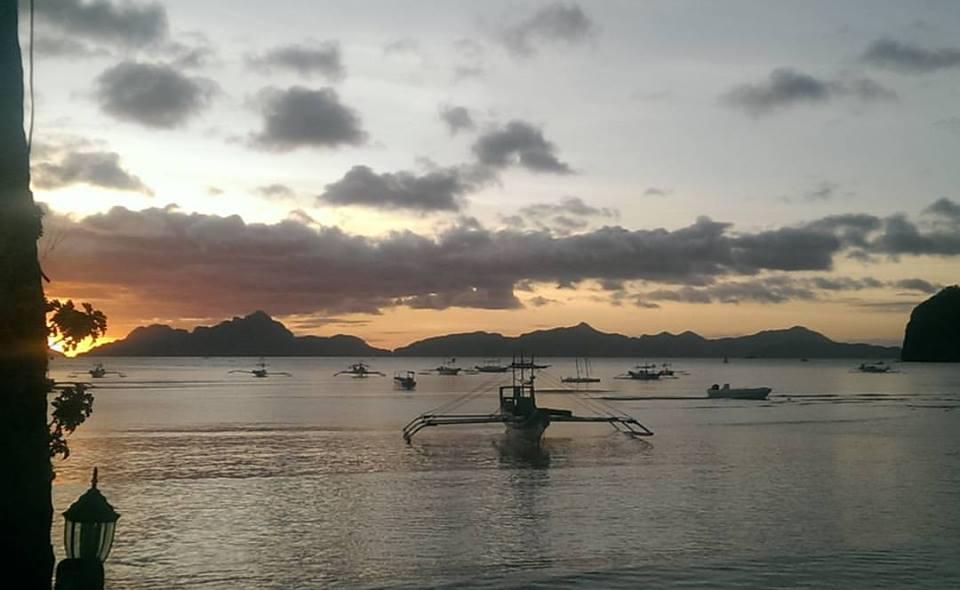 Sunset Corong-Corong El Nido Palawan