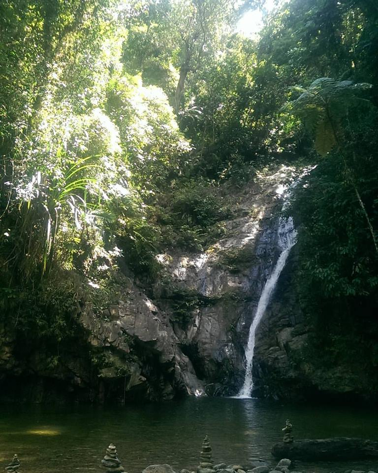 waterfall Port Barton Palawan Philippines