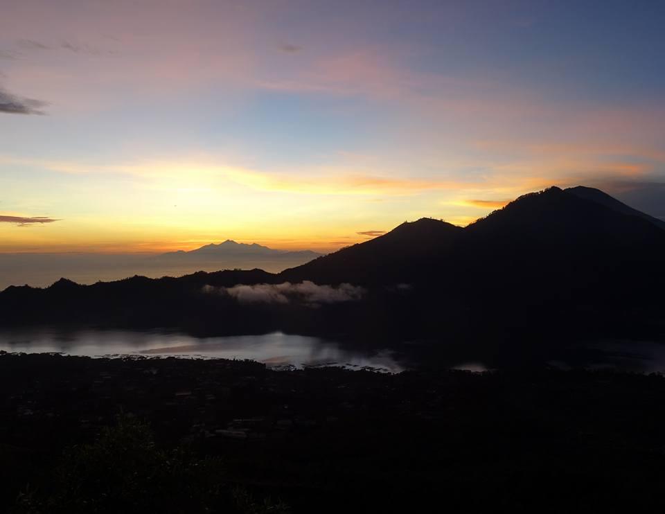 Batur sunrise trek solo Ubud Bali