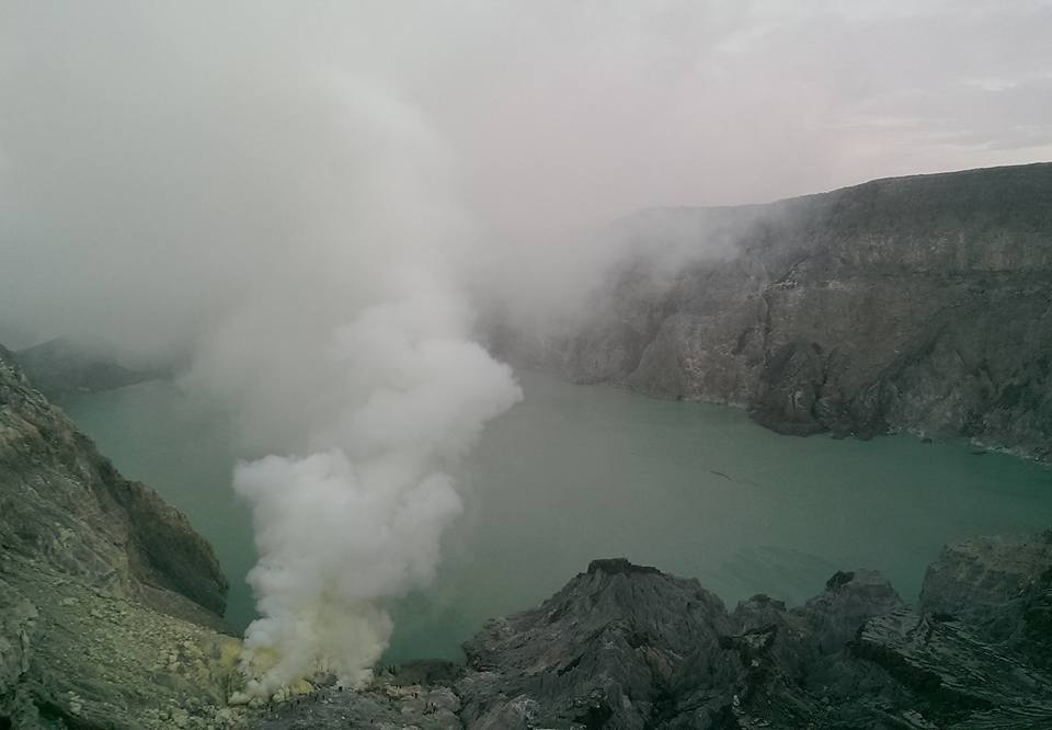 Ijen Java Indonesia volcano solo female travel