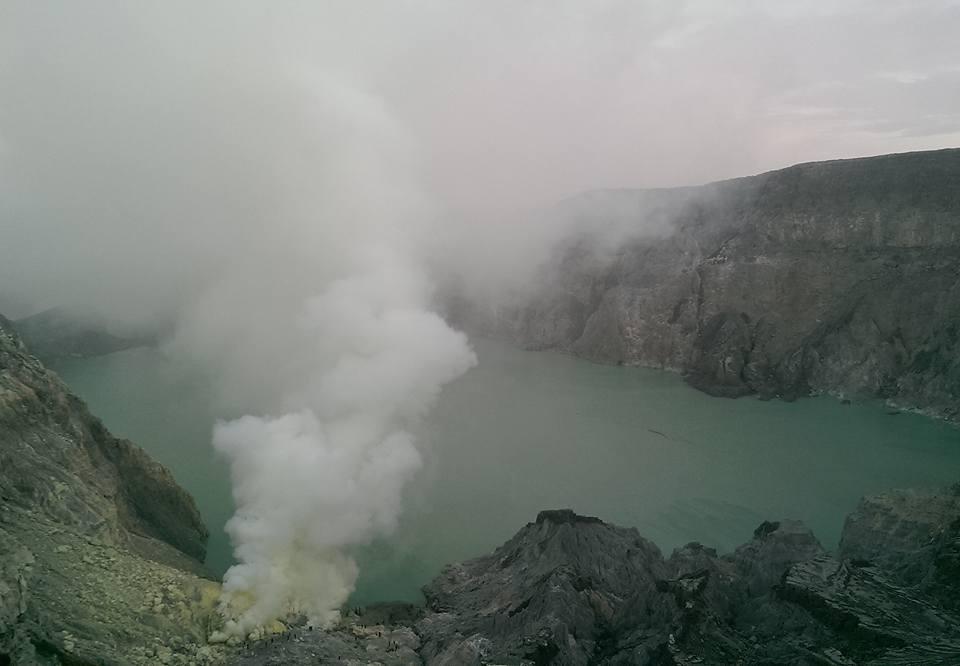 Ijen Java Indonesia volcano solo female travel