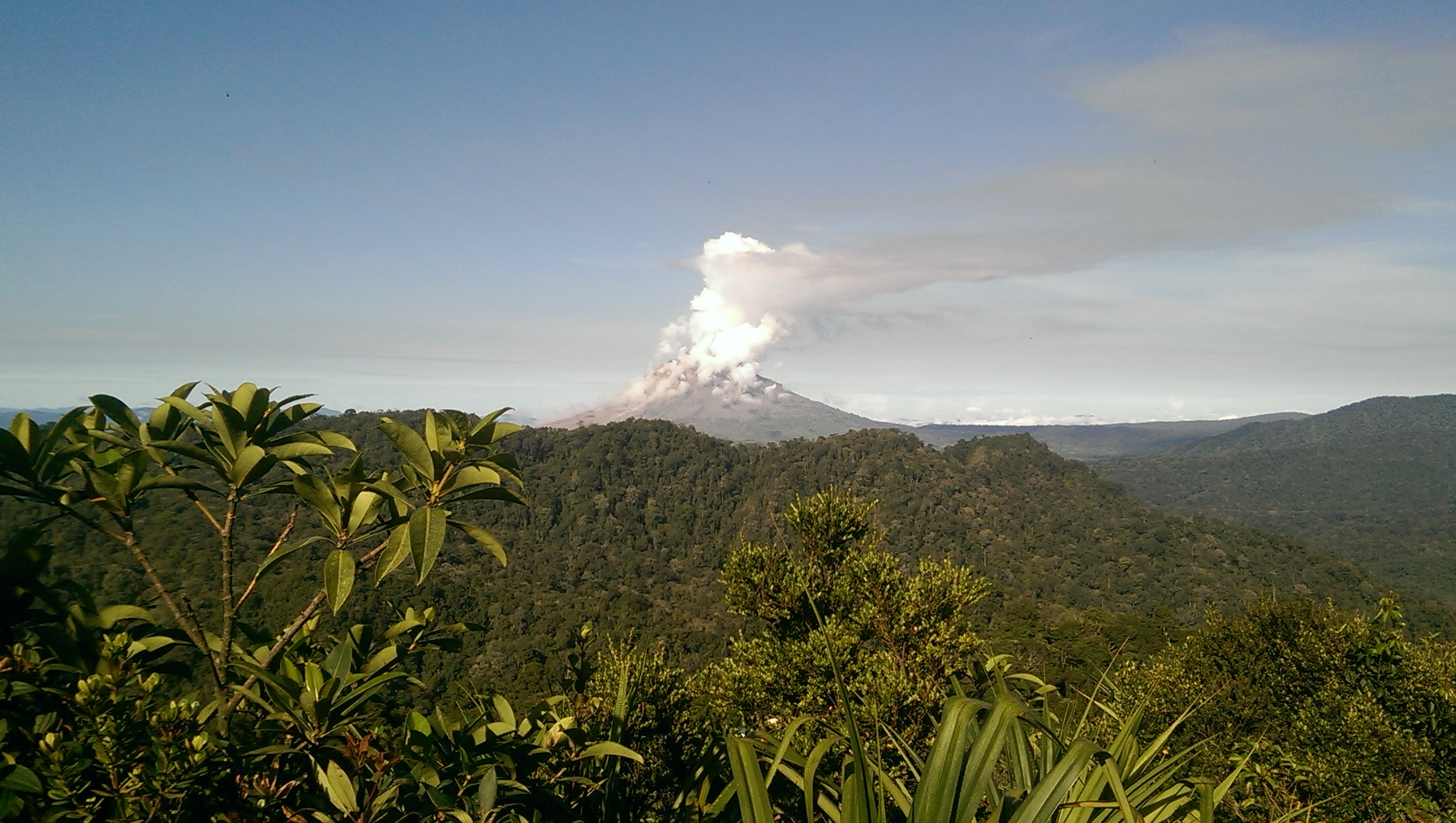 Sumatra volcano Sibayak Sinabung solo female travel Indonesia