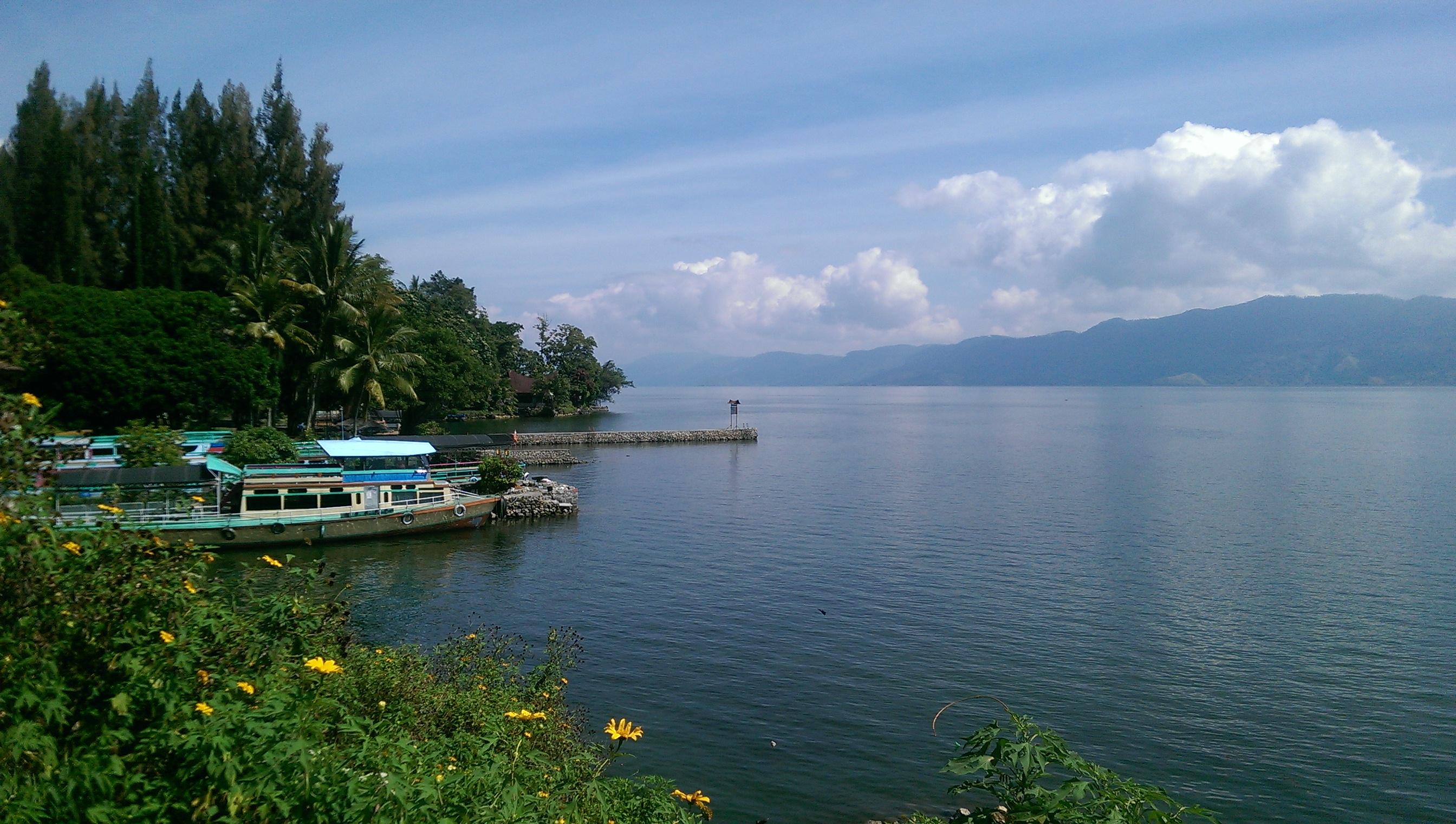 Lake Danau Toba Sumatra Indonesia solo female travel