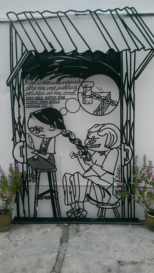 George Town Penang Malaysia solo female travel street art