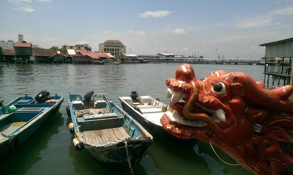 George Town Penang Malaysia solo female travel clan jetties