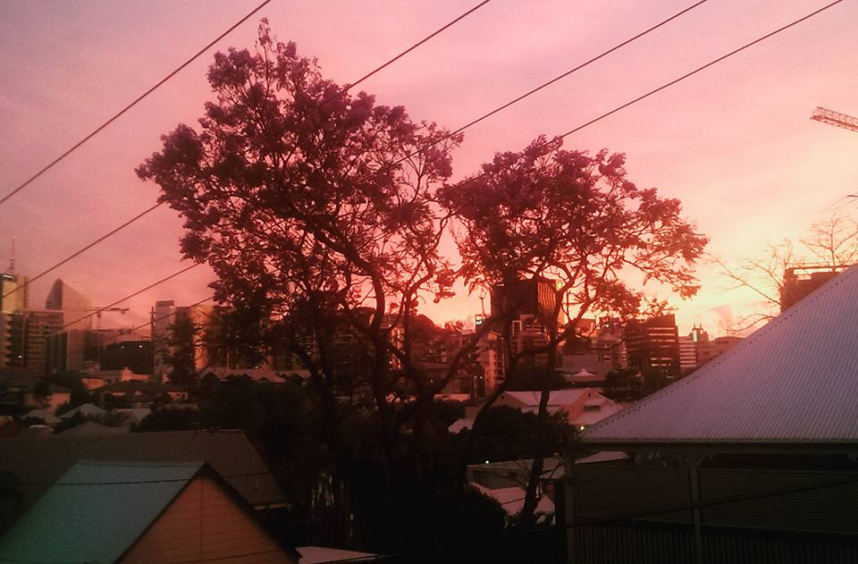 Brisbane solo travel Working Holiday Visa Australia sunset