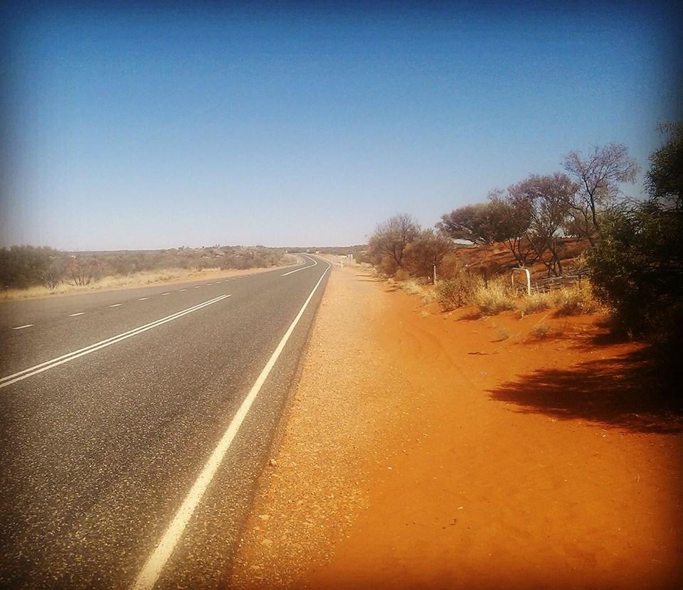 Desert outback road