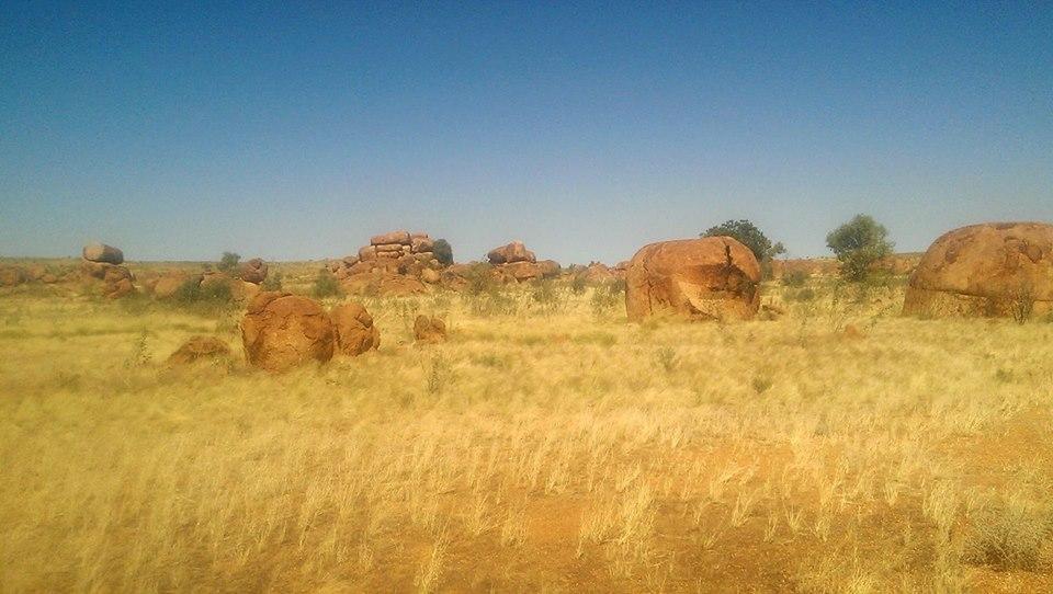 Karlu Karlu Devil's Marbles solo female travel Australia Northern Territory