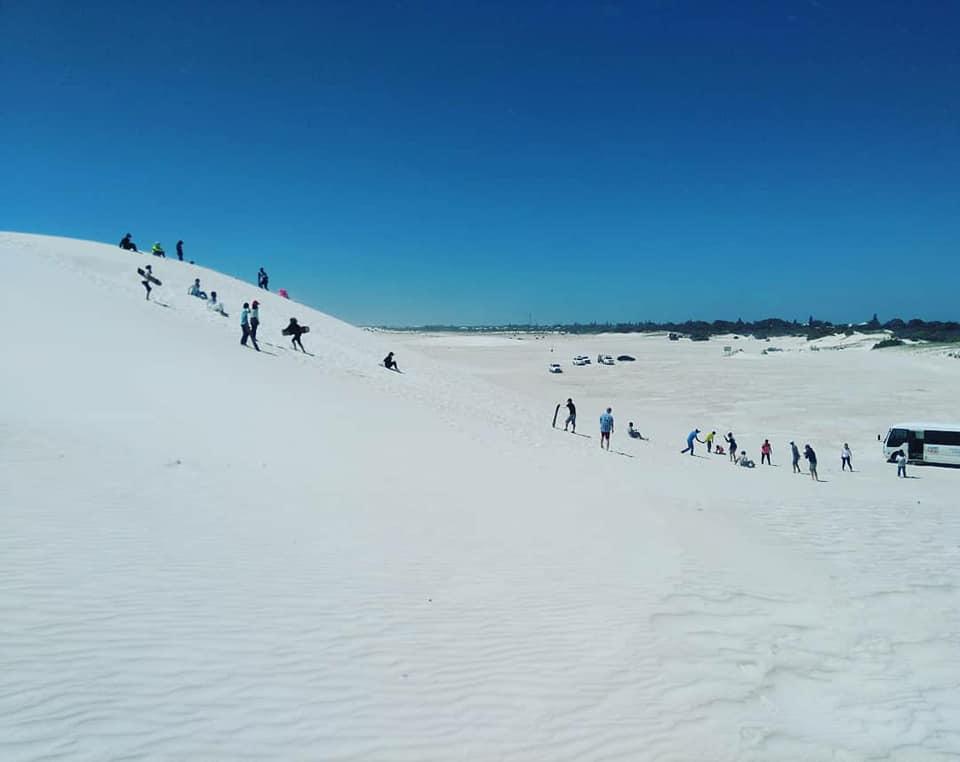 Sandboarding Lancelin Western Australia