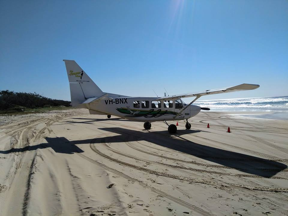 Scenic Flight Air Fraser Island Australia