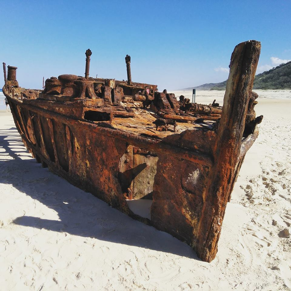 Fraser Island Maheno Shipwreck Australia