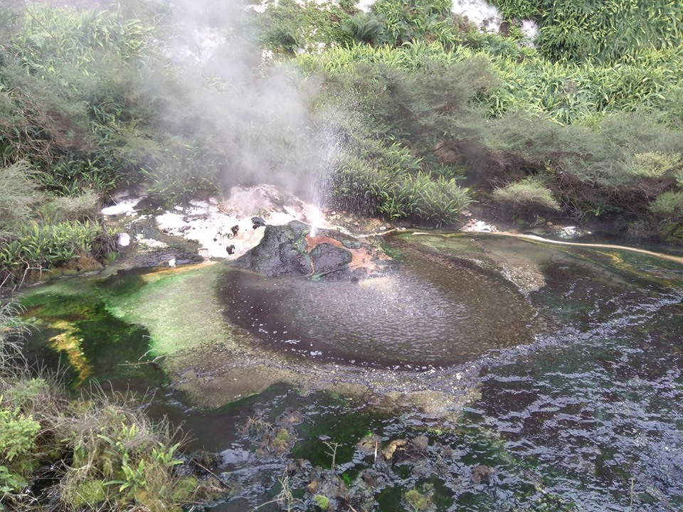 Waimangu Volcanic Valley Rotorua volcanoes New Zealand North Island