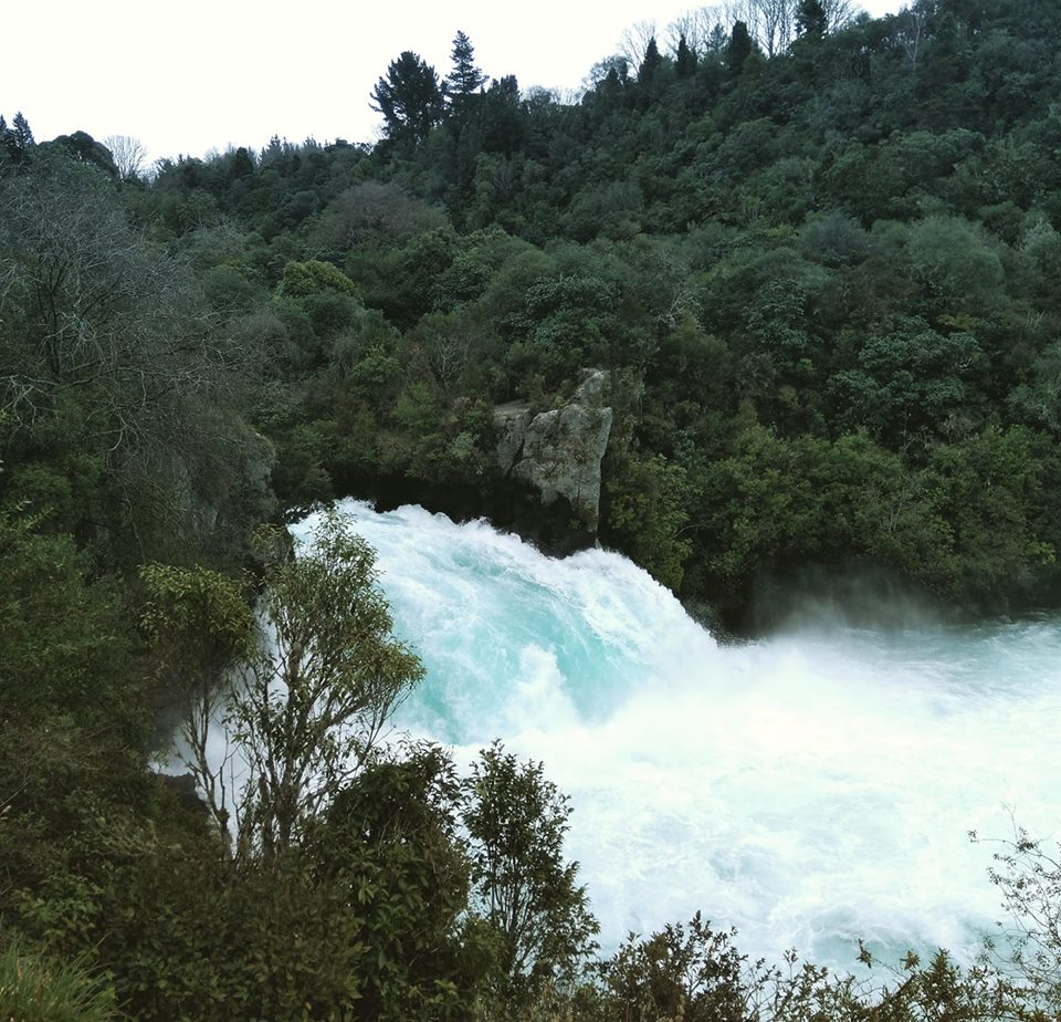 Huka Falls Taupo New Zealand North Island