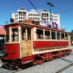 Christchurch New Zealand tram