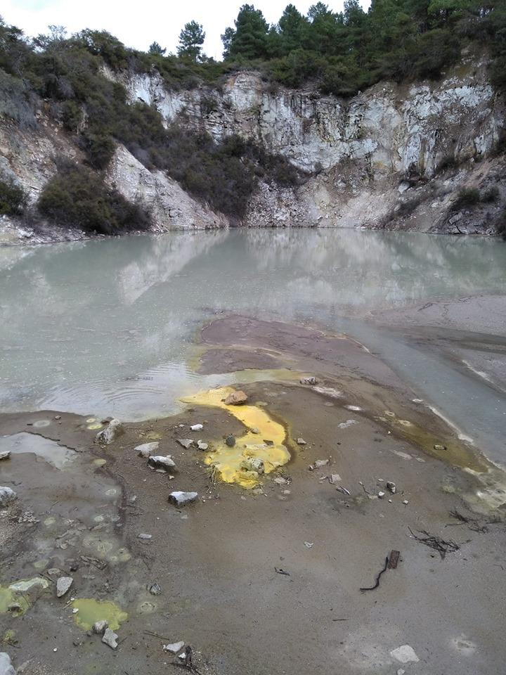 Wai O Tapu Thermal Wonderland Rotorua volcanoes New Zealand North Island
