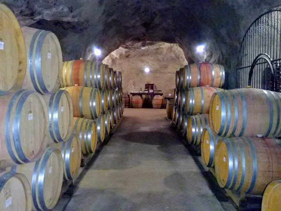 Gibbston Valley wine cave Central Otago Queenstown New Zealand