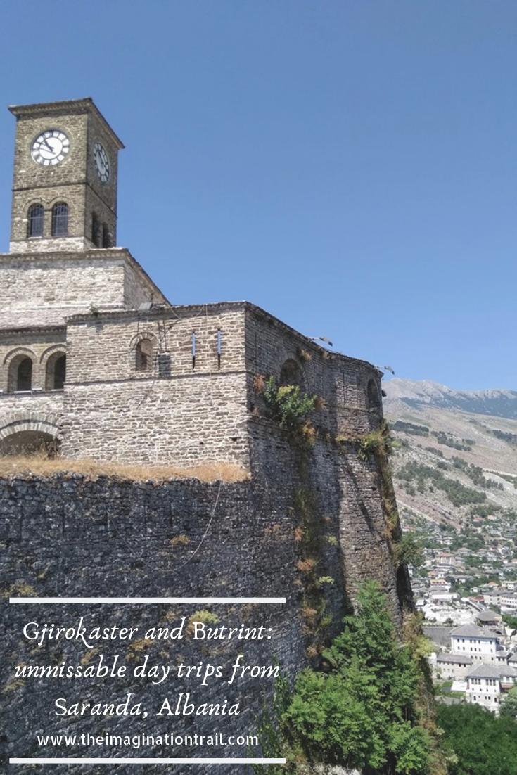 Gjirokaster fortress castle clock tower Albania