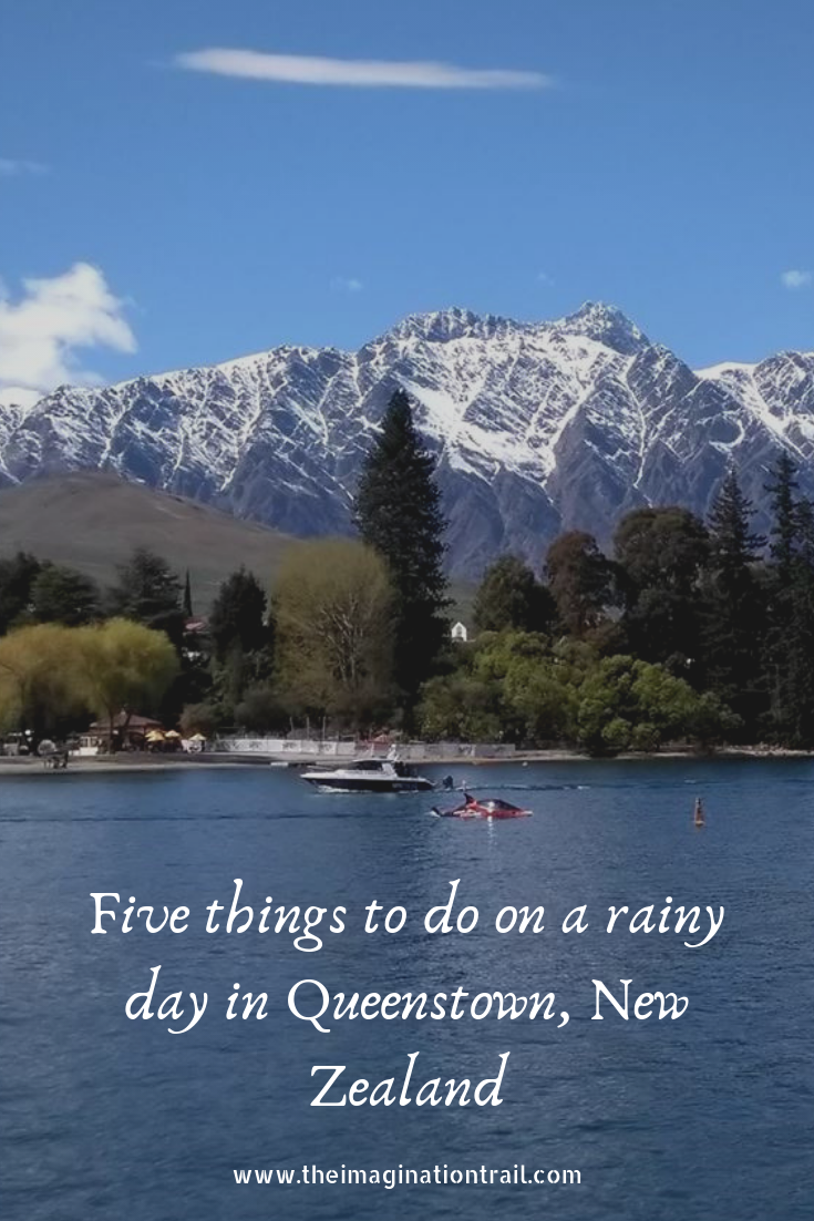 Queenstown New Zealand rainy day