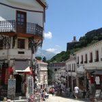 Bazaar in Gjirokaster Old Town
