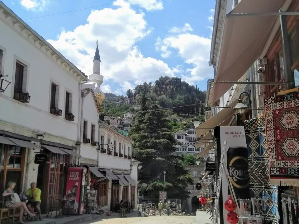 Bazaar in Gjirokaster Old Town