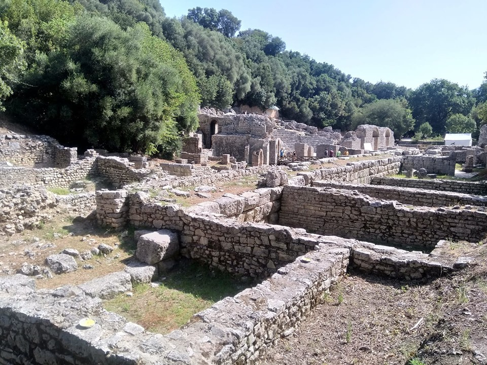 The Roman archaeological excavations at Butrint in Albania