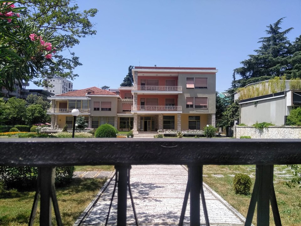 Former Residence of Enver Hoxha House of the Dictator Tirana Albania