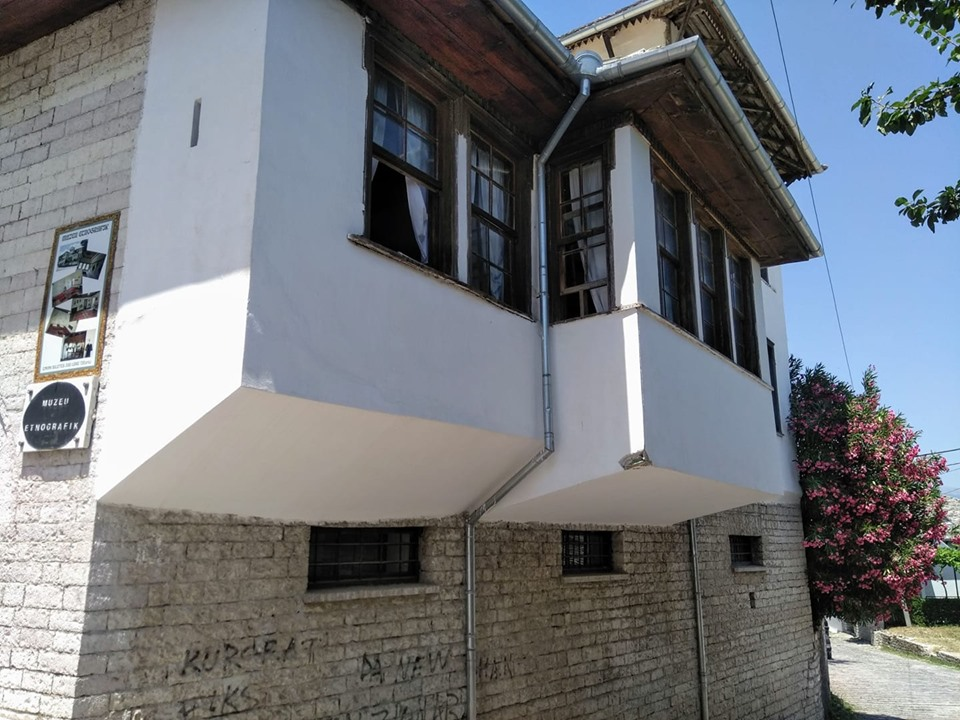 The house where Enver Hoxha was born, now the Ethnographic Museum