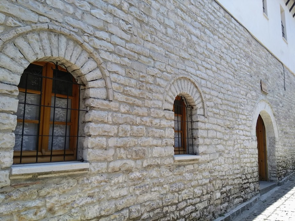 The house where Albanian author Ismail Kadare was born