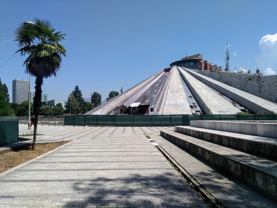 Piramida Pyramid of Tirana Albania