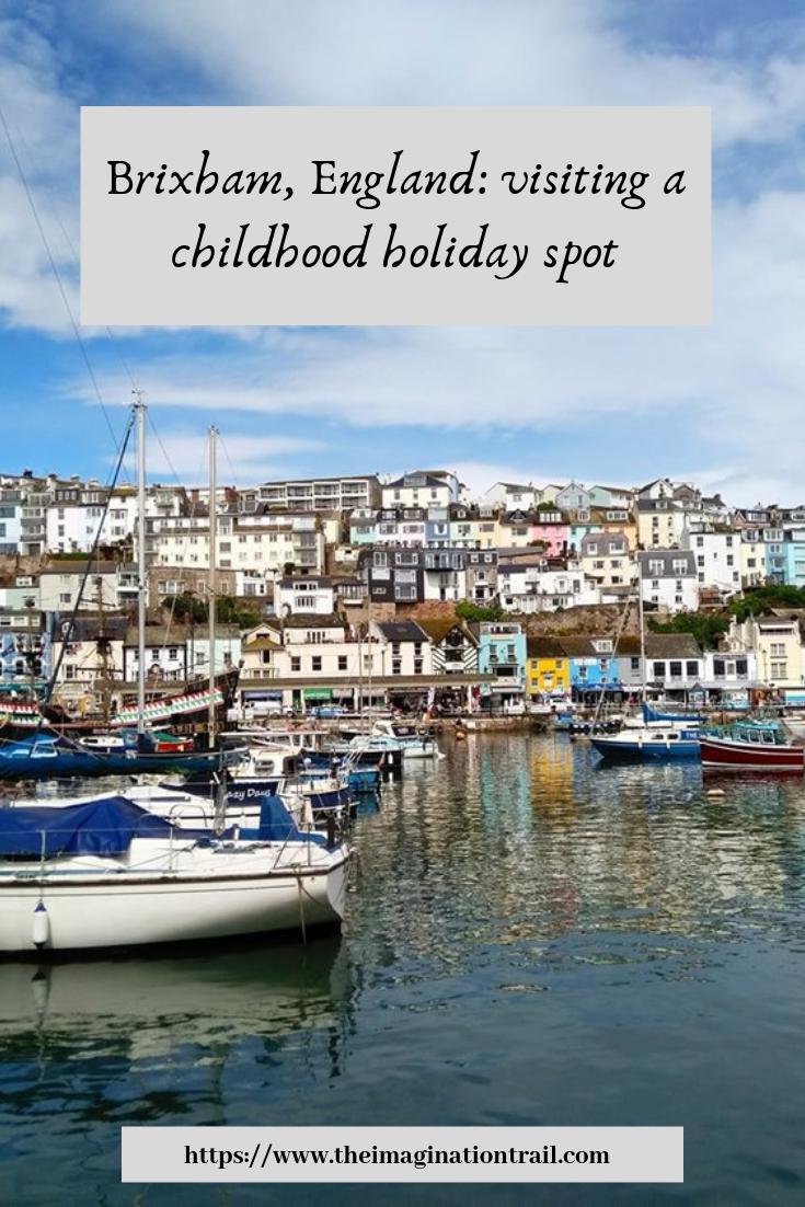 Brixham South Devon English Rviera England UK fishing village childhood family holidays solo female travel