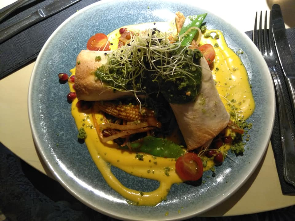 Burrito from Vegan Restoran V