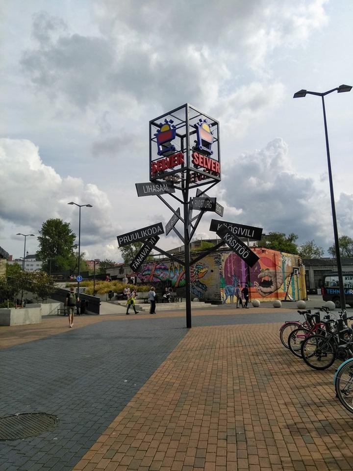 Street art and unusual street signs
