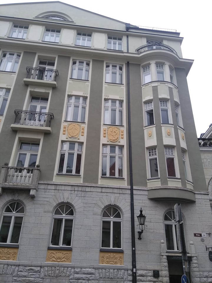 The building which housed the KGB Headquarters in Tallinn