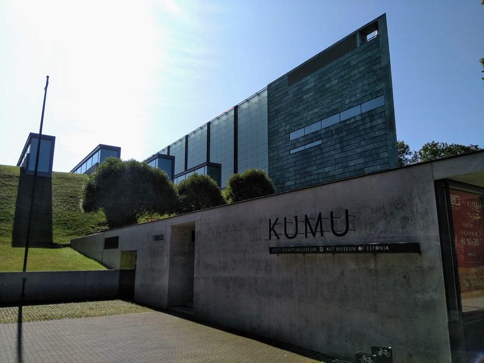 The exterior of KUMU, the national art museum in Tallinn