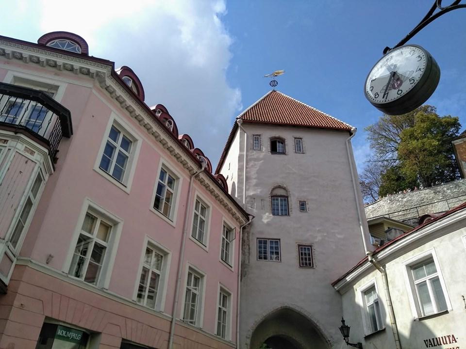 The medieval streets of Tallinn