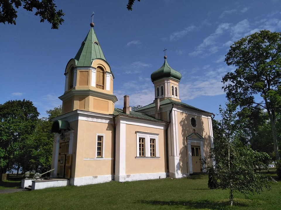 A Russian orthodox church in Haapsalu